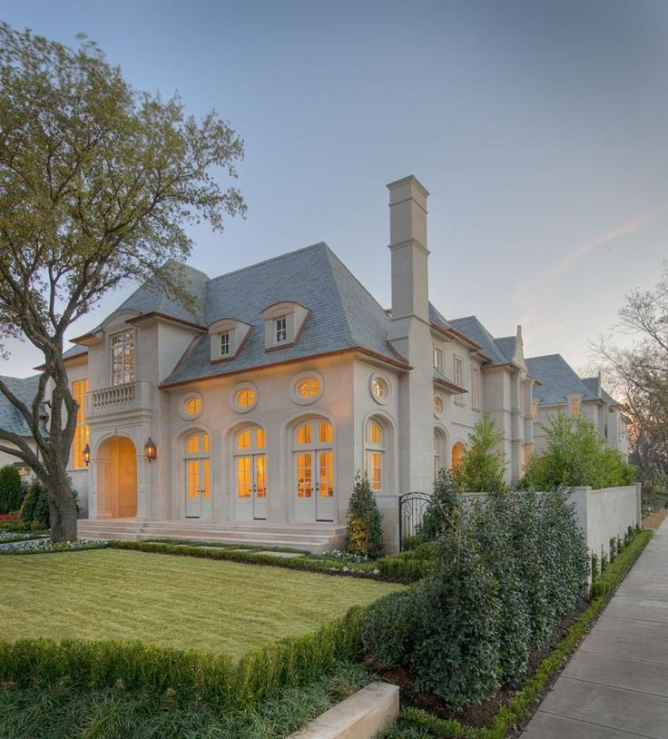 Curb appeal tatum brown works with a number of dfws finest architects and can serve · french style homesfrench chateau
