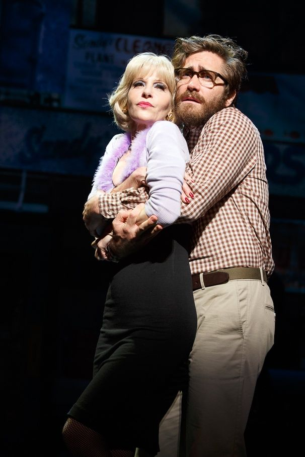 Ellen Greene and Jake Gyllenhaal in LITTLE SHOP OF HORRORS