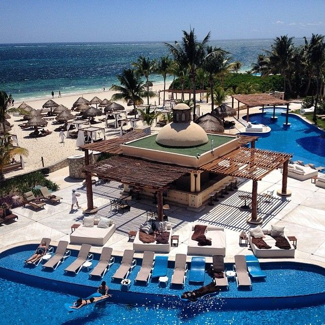 Stunning view from an Excellence Riviera Cancun Room #ExcellenceClub #RivieraMaya