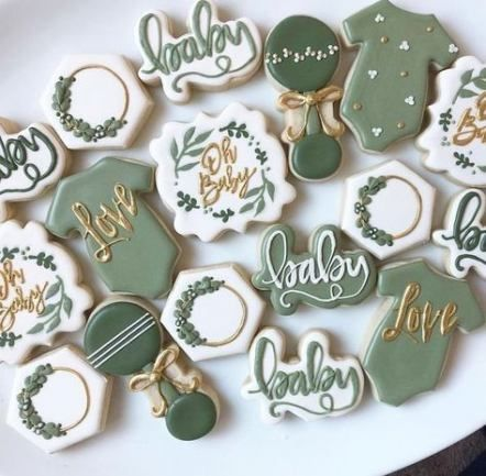 Baby shower boy cookies gender reveal 23+ Ideas