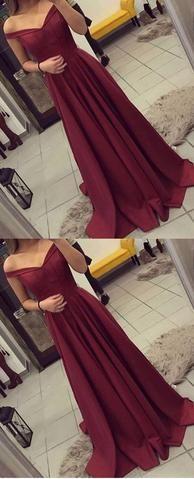 Elegant Prom Dress,Sleeveless Prom Dress,Burgundy Evening Dress,Evening Party Dress