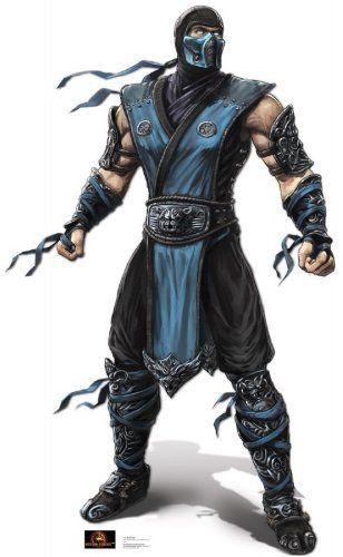 "Subzero - Mortal Kombat (70"" x 43"") Graphic Stand Up - http"
