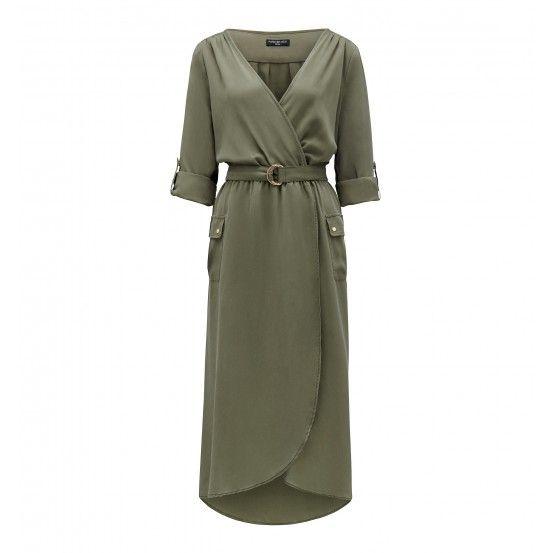 Ella Cross-Over Dress