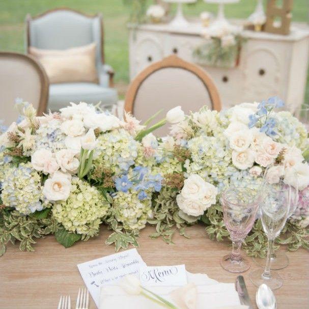 Casamento: as cores do ano Rosa Quartzo Azul Serenity na decoração