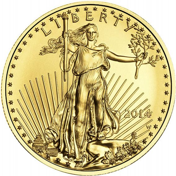 Liberty Gold Coin- 2014. Gold, gold coins, liberty gold coin, gold investment.