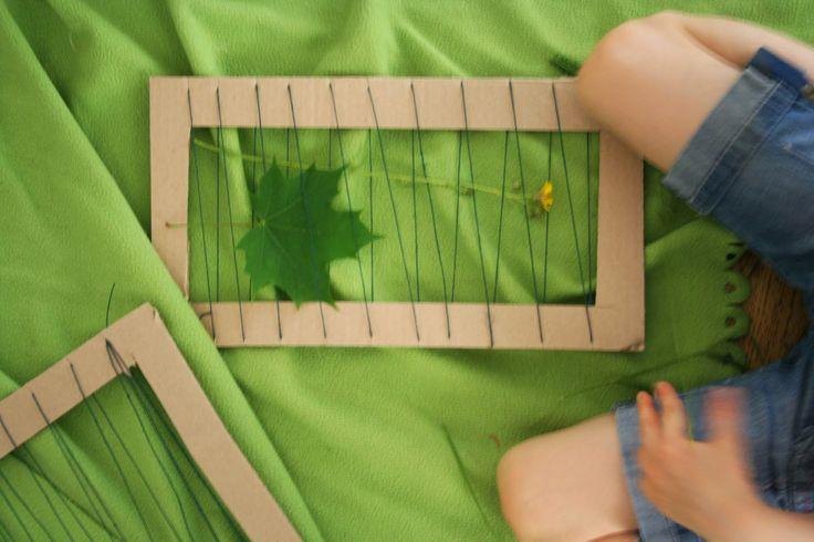 leaf, weaving