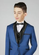 Costume Bleu Marine et Noir 2 pièces pour Garçon
