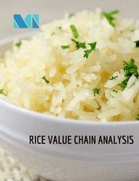 Rice Value Chain extends from crop production through processing, trading and marketing, to the final consumption.