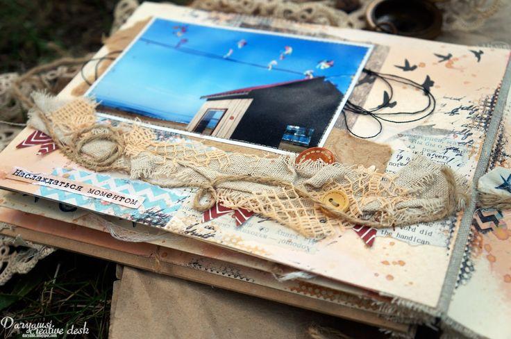 Challenge-km-shop: В деле: страницы альбома от Дарьи Шкуратовой