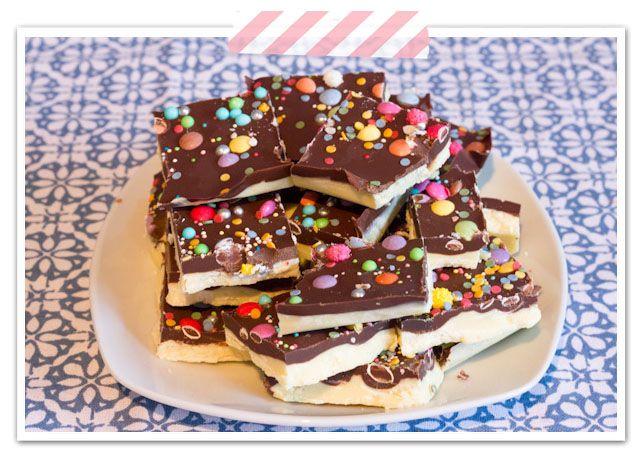* Julias Backstube *: Bruch-Schokolade