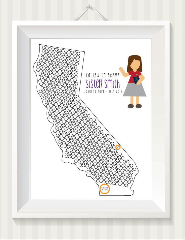Missionary Countdown (Sister) Digital Print by simpdesigned on Etsy https://www.etsy.com/listing/229860183/missionary-countdown-sister-digital