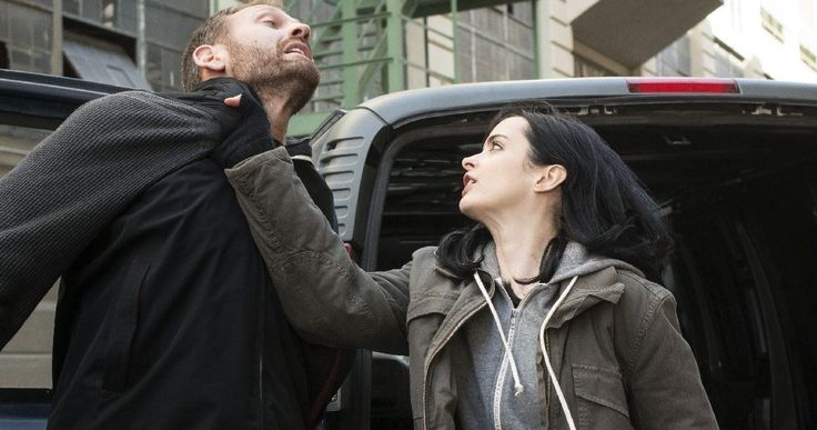 Over 30 'Jessica Jones' Photos Show the Marvel Hero in Action -- The latest photos from Netflix's 'Jessica Jones' have Krysten Ritter springing into action in the Hell's Kitchen area of New York. -- http://movieweb.com/marvel-jessica-jones-netflix-series-photos/