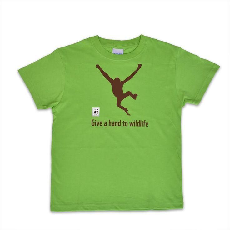 T-shirt Chimpanzee|wwf.gr