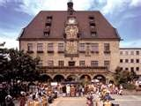Heilbronn, Germany - town square where I lived.