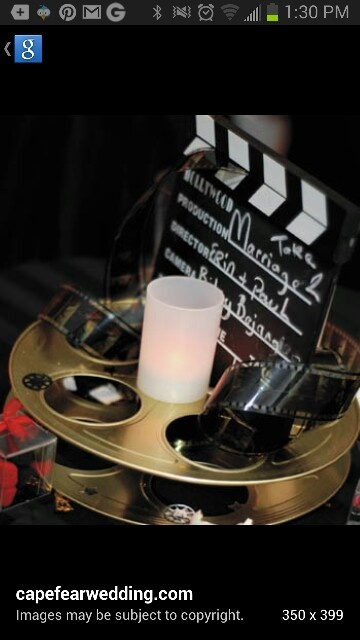 46 best images about movie themed wedding centerpieces on for Table 9 movie