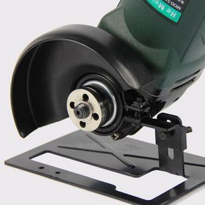 Angle Grinder Cutting Machine Conversion Tool Holder Metal Safety Shield Cover  #Unbranded