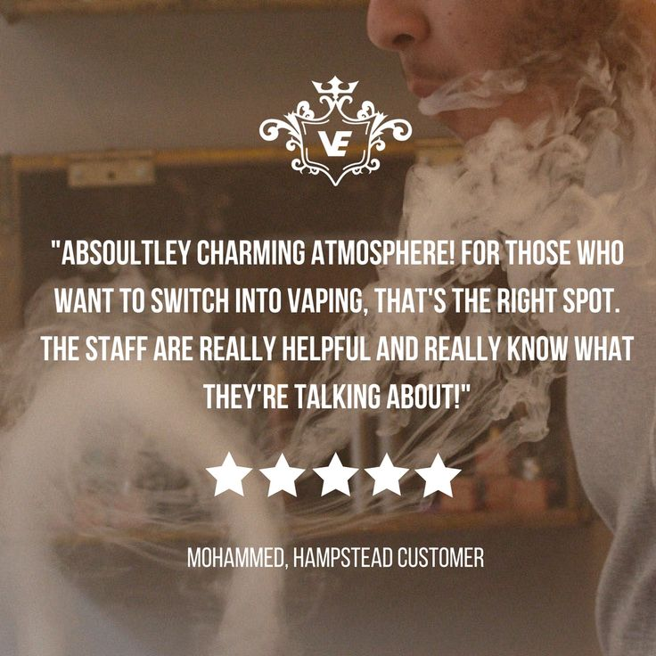 Another 5* review for our #Hampstead store in #London - we are just 2 minutes walk from the Hampstead Underground #Tube Station. We have seats, and will even offer you a refreshing drink when the weather is this warm! We have a patient approach and will help you understand #vaping if it is a new concept to you. We can also give you advice on building your own coils or using mechanical mods, if you are a more experienced #vaper - We hope to see you soon! VE-Team