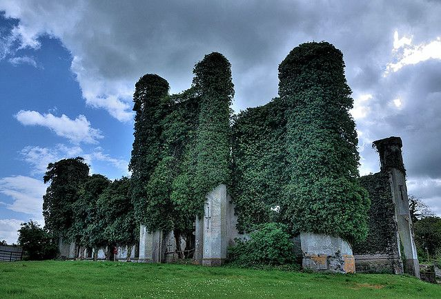 the unforgettable fire-U2 moydrum castle today