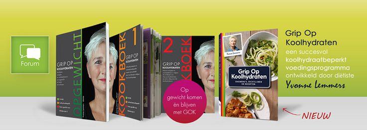OPGEWICHT - Yvonne Lemmers, diëtiste met Grip Op Koolhydraten - Forumindex