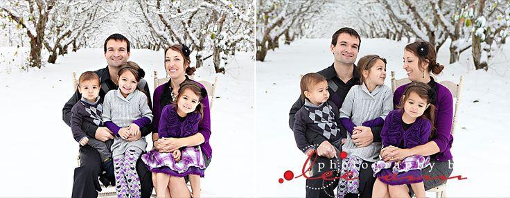 Family Snow Shots!