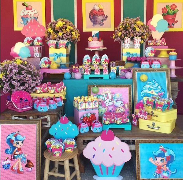 Decoração para Festa infantil Shopkins – Sugestões – Blog Inspire sua Festa