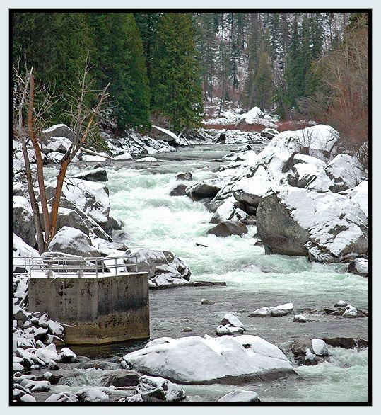 Wenatchee River - Leavenworth, Washington