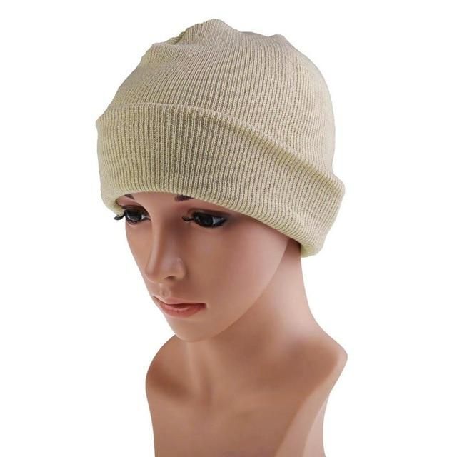 8b0d900803a87 21 Colors High Quality Hats Female Winter Beanies Solid Candy Color Men  Women Warm Cuff Plain Knit Ski Long Beanie Skull Cap