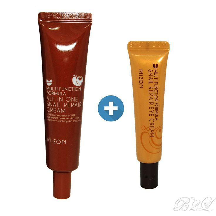 [MIZON] All In One Snail Repair Cream 35ml + Snail Repair Eye Cream 15ml #Mizon