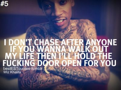 wiz khalifa quotes tumblr - Wiz Khalifa Quotes