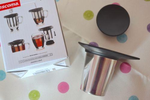 the tescoma tea strainer from tea studio london