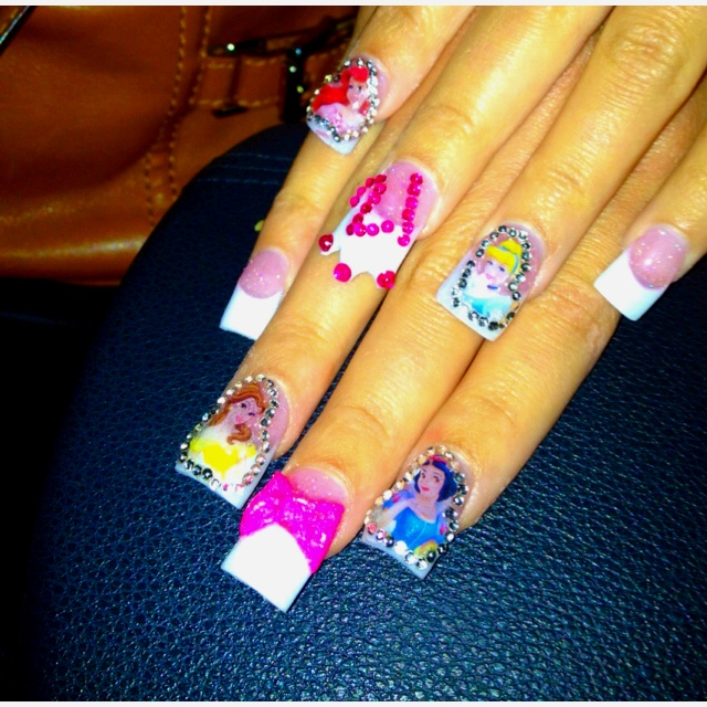 Dress Disney Princess Nails: 297 Best Disney Princess Birthday Party Images On