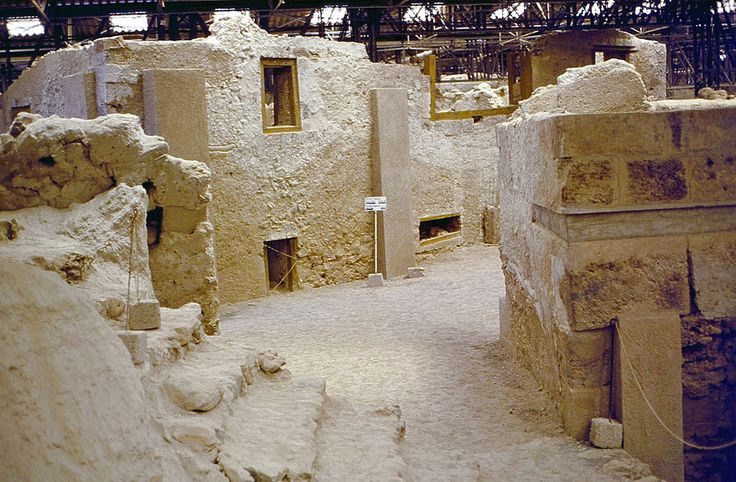Akrotiri ancient site...