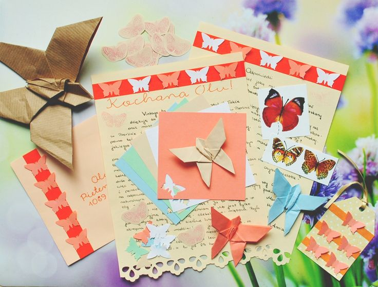 Butterfly letter to Netherlands