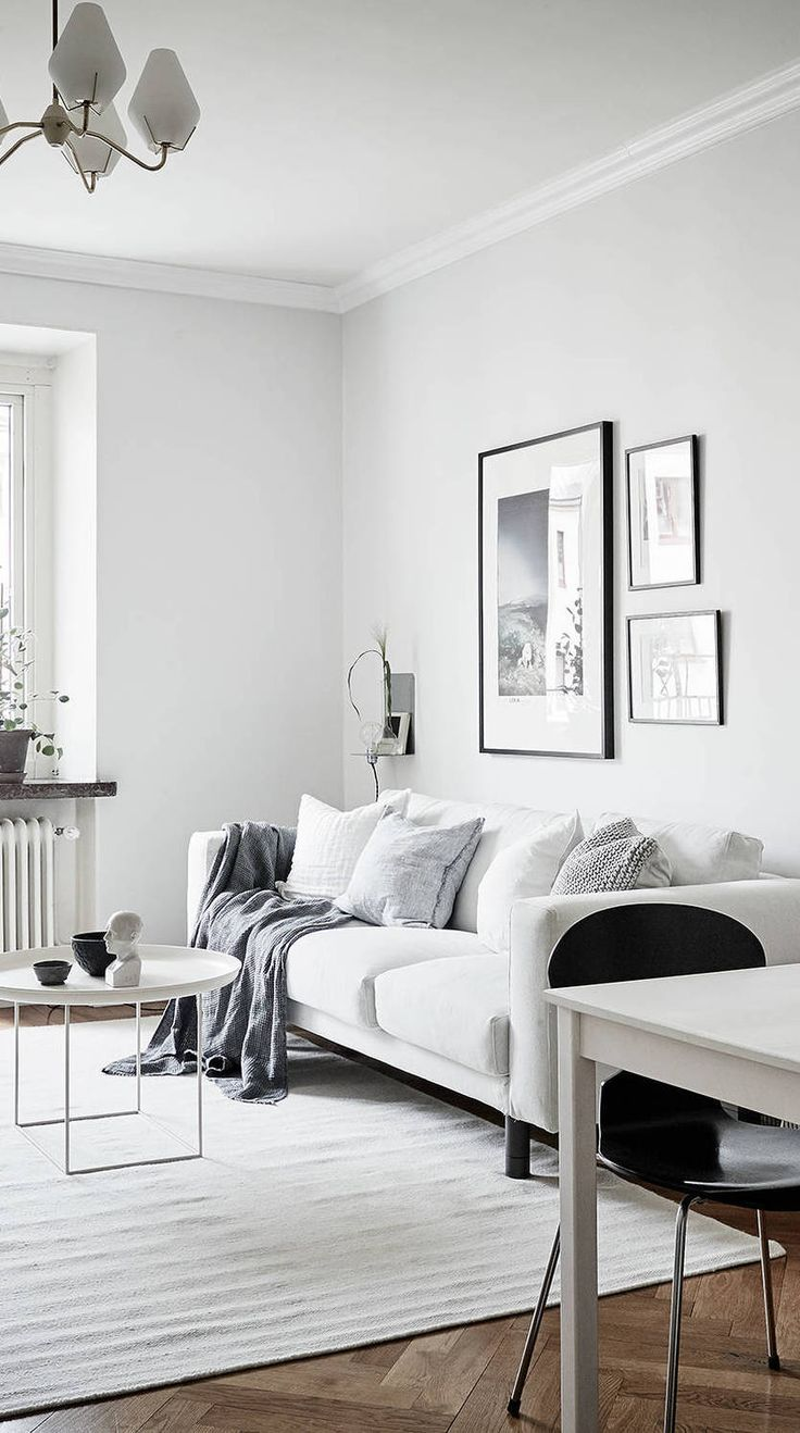 Inspiration for a mid sized timeless enclosed living room remodel in - Cozy Home With A Vintage Touch Via Coco Lapine Design