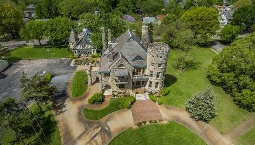 1886 Campbell Castle In Wichita Kansas Captivating Houses