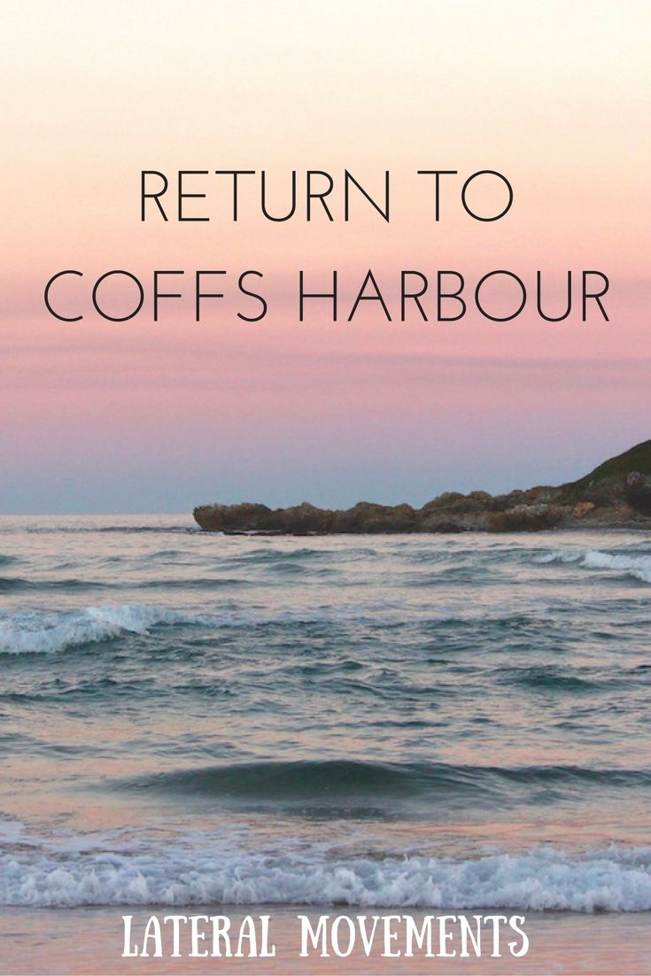 What's it like to go back to a place that played a big role in your past? Not what I thought. #coffs #travel #australia