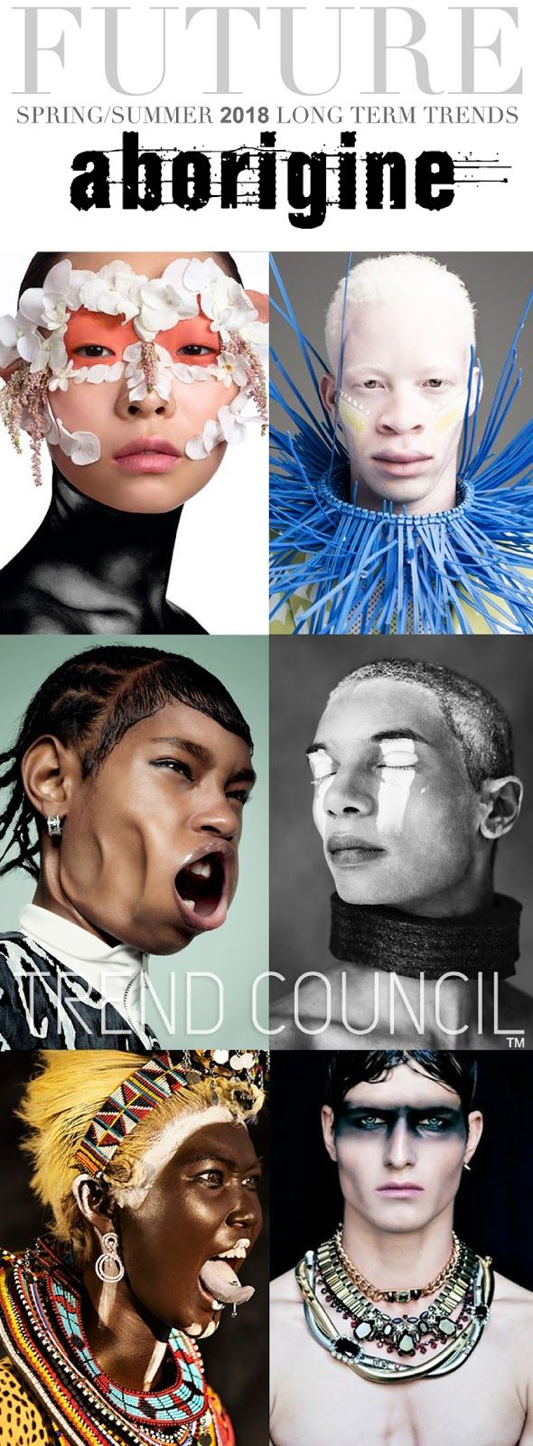 TRENDS // TREND COUNCIL - ABORIGINE . SS 2018