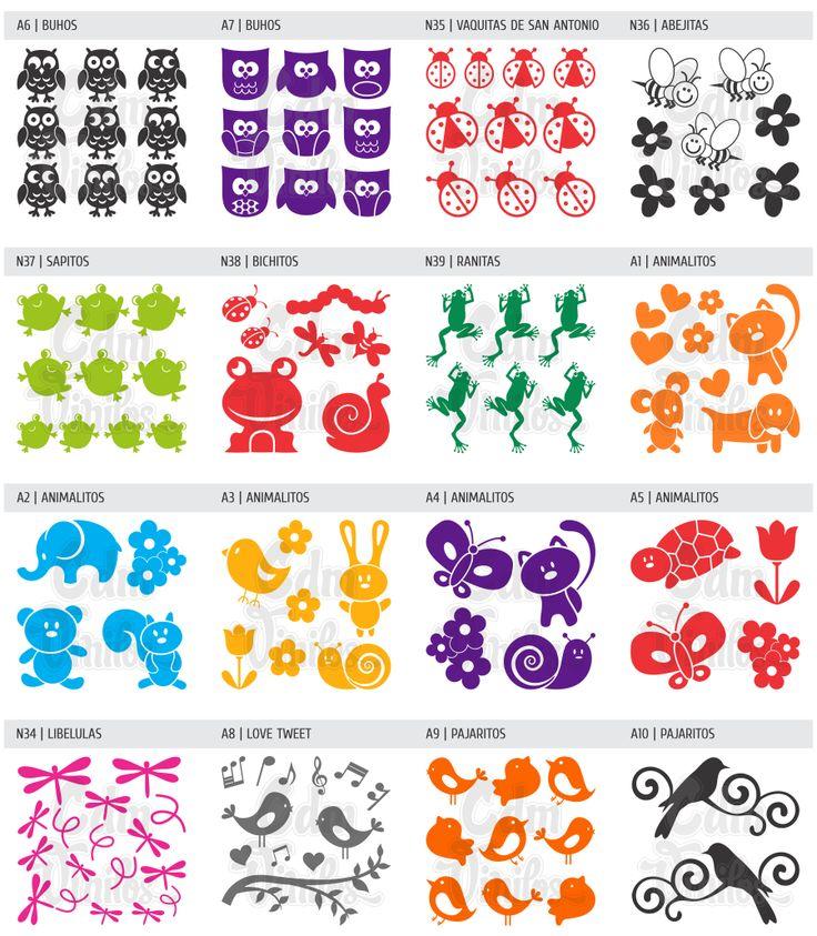 Planchas de vinilo autoadhesivo decorativo para hogar y for Sticker decorativos para ninos