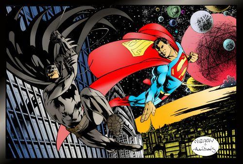 Batman & Superman - Alan Davis