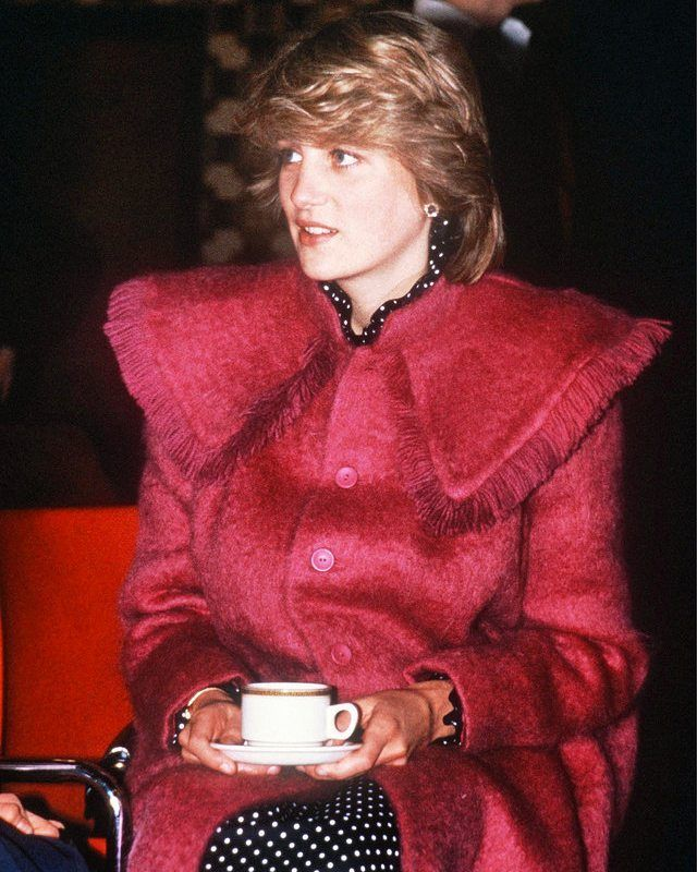"""1,492 Likes, 16 Comments - Princess Diana Forever (@princess.diana.forever) on Instagram: """"22 March 1982: Wearing a maternity coat designed by Bellville Sassoon, pregnant Princess Diana…"""""""