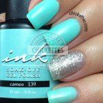 Glam and Glits Ink Gel Polish Cameo #139 Swatch