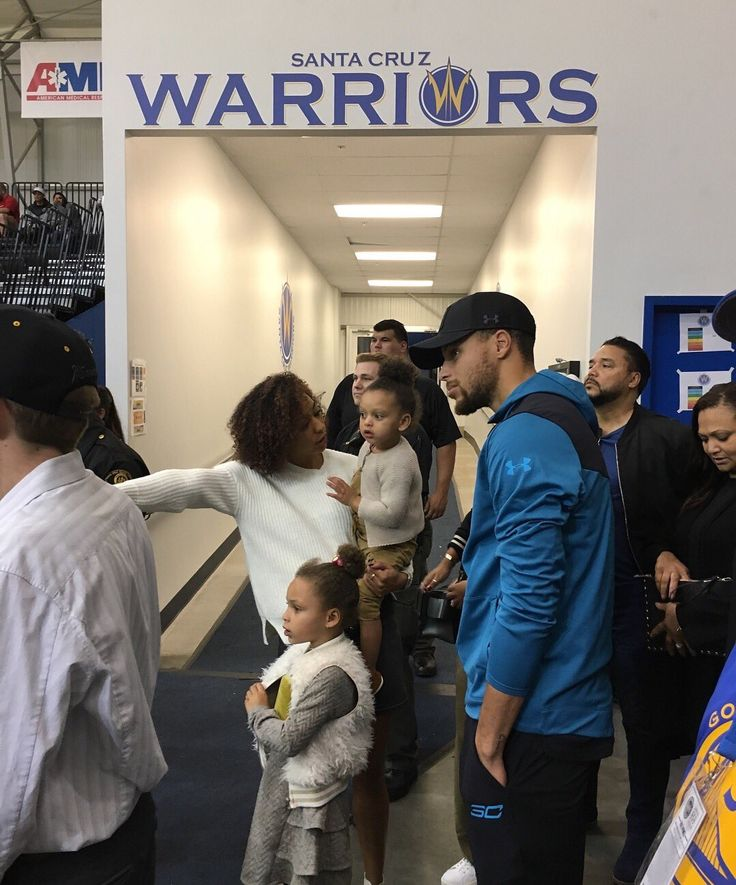 #Stephencurry and #KevinDurant of the golden state warriors attend the Santa Cruz warriors game on Friday November 10th.