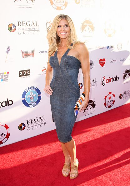 Diva Torrie Wilson attends the 5th Annual Variety Texas Hold 'Em poker tournament benefiting The Children's Charity Of SoCal at Paramount Studios on...