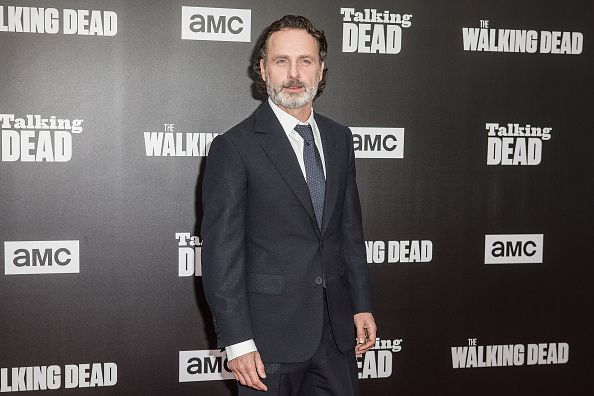 Andrew Lincoln arrives at AMC presents live 90minute special edition of 'Talking Dead' at Hollywood Forever on October 23 2016 in Hollywood California