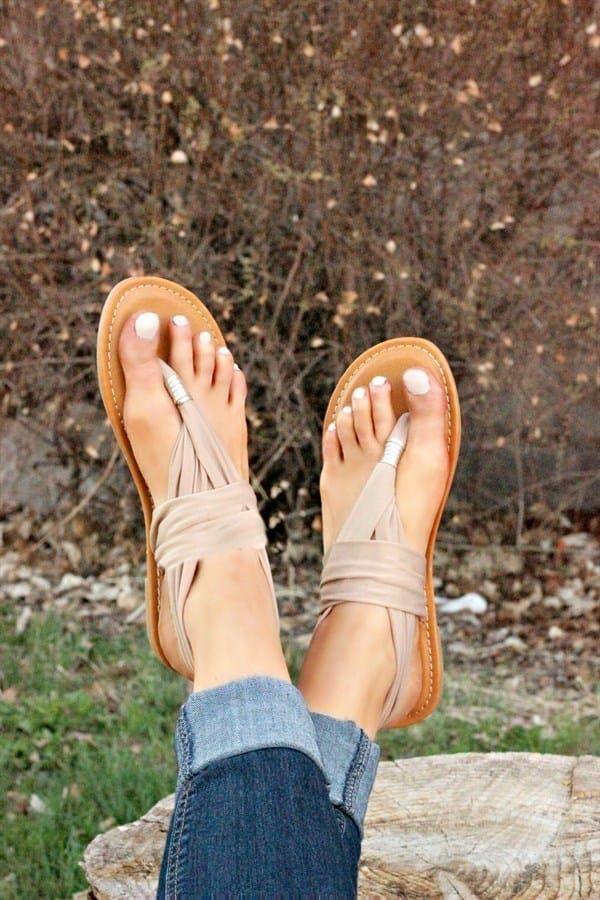 Yoga Sling Sandal | Extra Comfortable | Sommer sko, Sko og