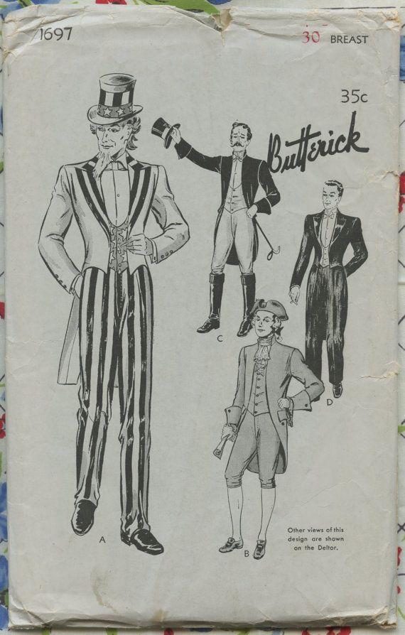 Ring Master Costume Sewing Patterns