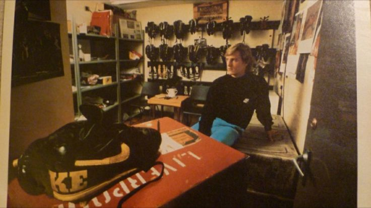 Liverpool Boot Room Nike Advert Featuring Extremely Rare