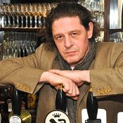 Marco Pierre White -ruthless perfection, dedication, enter those who are determined to excel.....