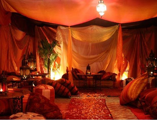 décor arabe | Tenda Árabe Decorada