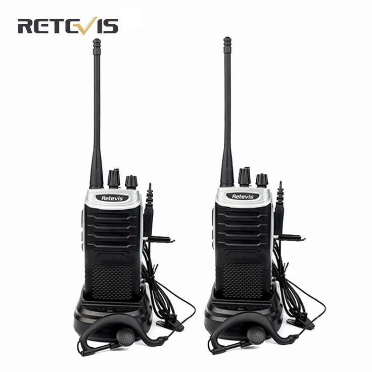 2 cái retevis rt7 xách tay walkie talkie 5 wát uhf 400-470 mhz fm radio (88-105 mhz) ctcss/dcs scan handheld ham radio hf thu phát